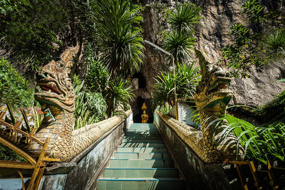 โบราณสถานถ้ำพระ ถ้ำที่อยู่ใกล้ตัวเมืองเชียงราย